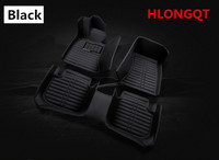 HLONGQT Auto Floor Mats For Ford FOCUS Hatchback 2013 2018 Foot Step Mat High Quality Water Proof Solid Color Mat Free shipping