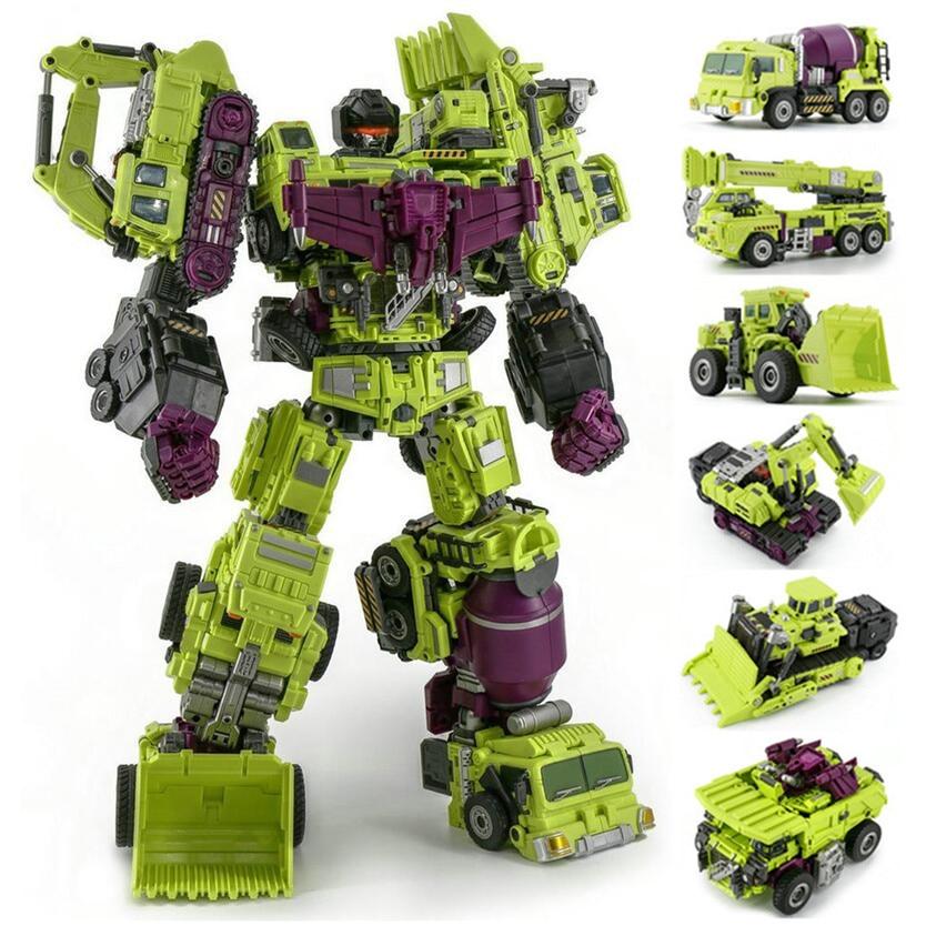 NEW Transformed Daban Model 6 in one Oversized Devastator boy toys In Stock  !