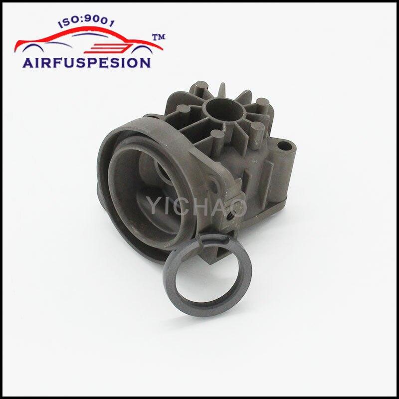 Nueva cabeza de cilindro y pistón compresor de aire de suspensión neumática bomba para W220 W211 Audi A6 C5 A8 D3 2203200104 4E0616007D