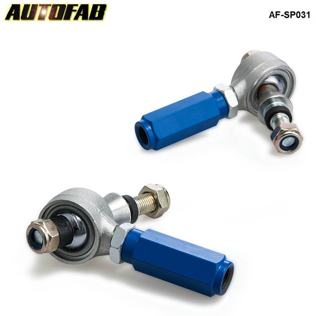 2pc rear suspension adjustable outer tie rod end arm for 240sx 95 98 rh aliexpress com