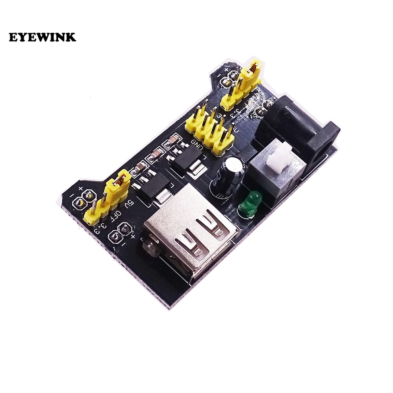 Image 2 - 100pcs MB102 Breadboard Power Supply Module 3.3V 5V For Arduino Solderless Breadboard-in Integrated Circuits from Electronic Components & Supplies