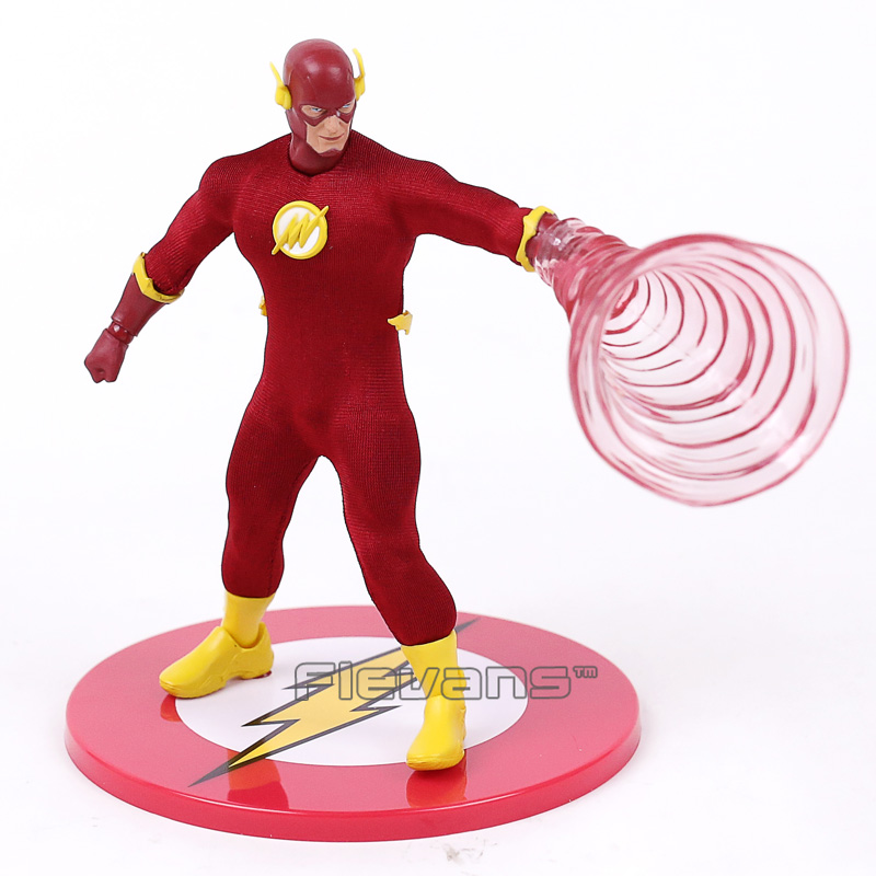 Mezco DC Comics Super Hero The Flash PVC Action Figure ONE:12 Collectible Model Toy Birthday Gift the flash man aciton figure toys flash man action figures collectible pvc model toy gift for children