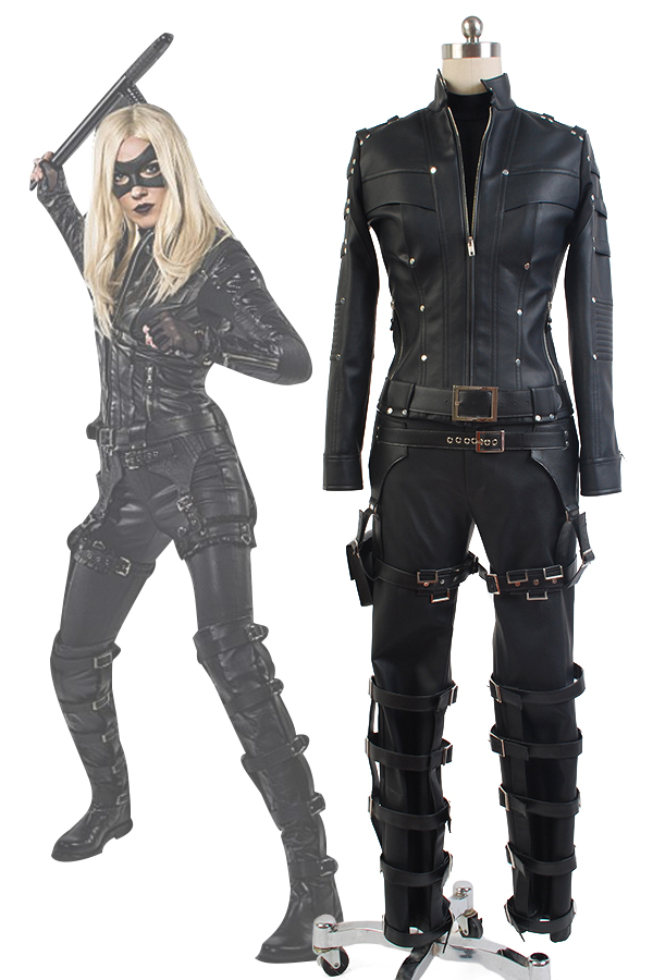 Women Black Canary Costume Dinah Laurel Lance Cosplay Costume For Women Halloween Carnival Green Arrow Costume Custom Made