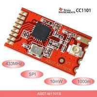 433MHz Modulo rf CC1101 Trasmissione Senza Fili SPI rf del Trasmettitore e Ricevitore 10mW ricetrasmettitore wireless IPEX