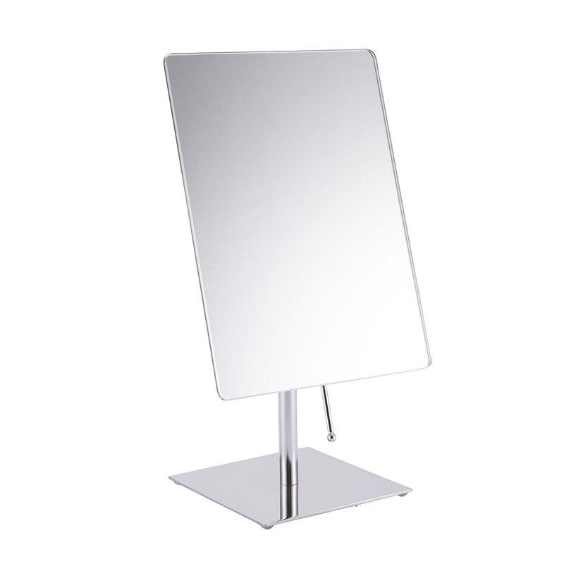 9 Pouce Maquillage Miroir Rectangle Forme Miroir Support de Bureau Miroir Cosmétique Make Up Chambre Miroirs Maquillage Outils