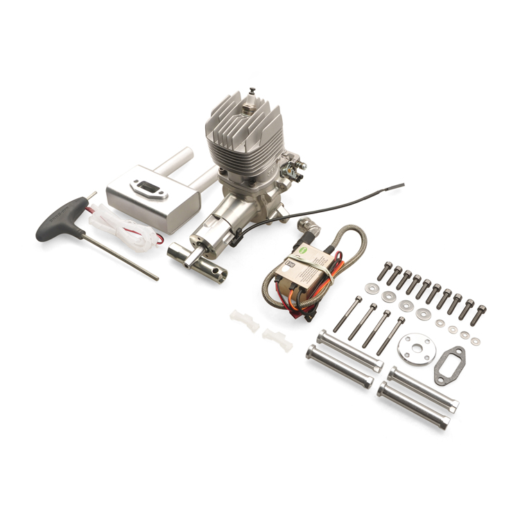 US $259 0 |New Arrival CRRCpro GP36R 2 Stroke Gasoline Engine Vacuum pump  double needle carburetor CDI ignition-in Parts & Accessories from Toys &