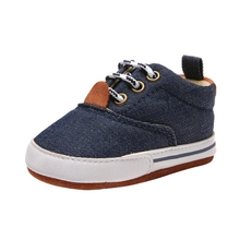 0-18Months Baby Boys Shoes Breathable Anti-Slip Canvas Shoes Sneakers