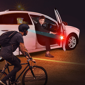 Image 5 - 2Pcs/4Pcs Universal wireless Magnetic 5 LED Warning Light waterproof strobe Car door opening Anti collision security Flash lamps