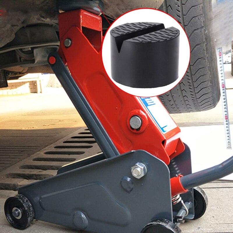 V-Slotted Frame Rail Floor Jack Guard Adapter Lift Pad Vehicle Repair Universal