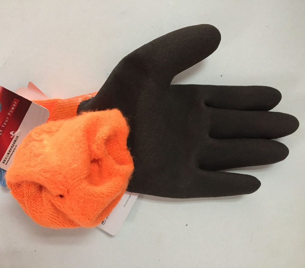 Image 3 - Wonder Grip Safety Gloves Safety Glove Fully Immersed Water Proof Gloves Cold proof Waterproof Winter Work Gloves-in Safety Gloves from Security & Protection