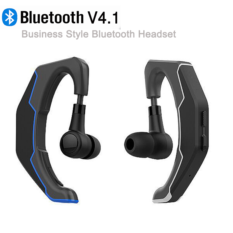 The New Bluetooth Earphone With Mic Wireless EarphonesV4.1 Sport Running Business Bluetooth