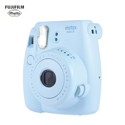 Genuíno fuji fujifilm mini 8 câmera fujifilm instax mini 8 filme instantâneo foto câmera nova 4 cores disponíveis câmera instantânea
