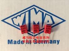 2019 hot sale 10pcs/20pcs Germany WIMA 630V 0.015UF 630V 153 15nf P: 5mm audio capacitor Audio capacitor free shipping 50pcs cbb capacitor 630v 474 470nf 0 47uf pitch 20mm