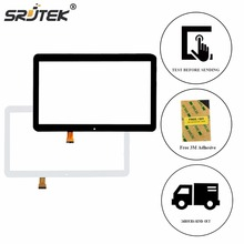 Srjtek 10.1″ For DEXP URSUS TS210 Glass Touch Digitizer Screen Sensor Repair Panel Replacement Parts Tablet White Black