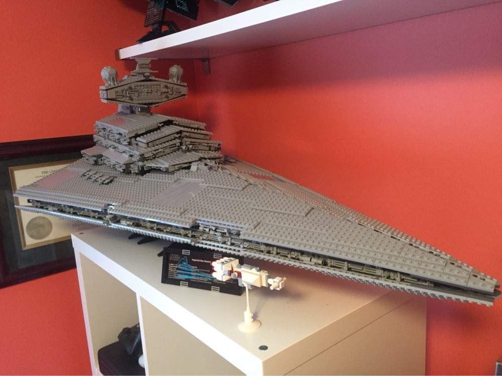 LEPIN 05027 3250Pcs Star Toy Wars Super Star Gift Destroyer Model Starship Building Blocks Brick Toys For Children 10030 Gift 05028 star wars execytor super star destroyer model building kit mini block brick toy gift compatible 75055 tos lepin