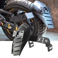 Motorcycle Rear Mudguard Fender Rear Extender Extension For Honda Grom MSX125 SF