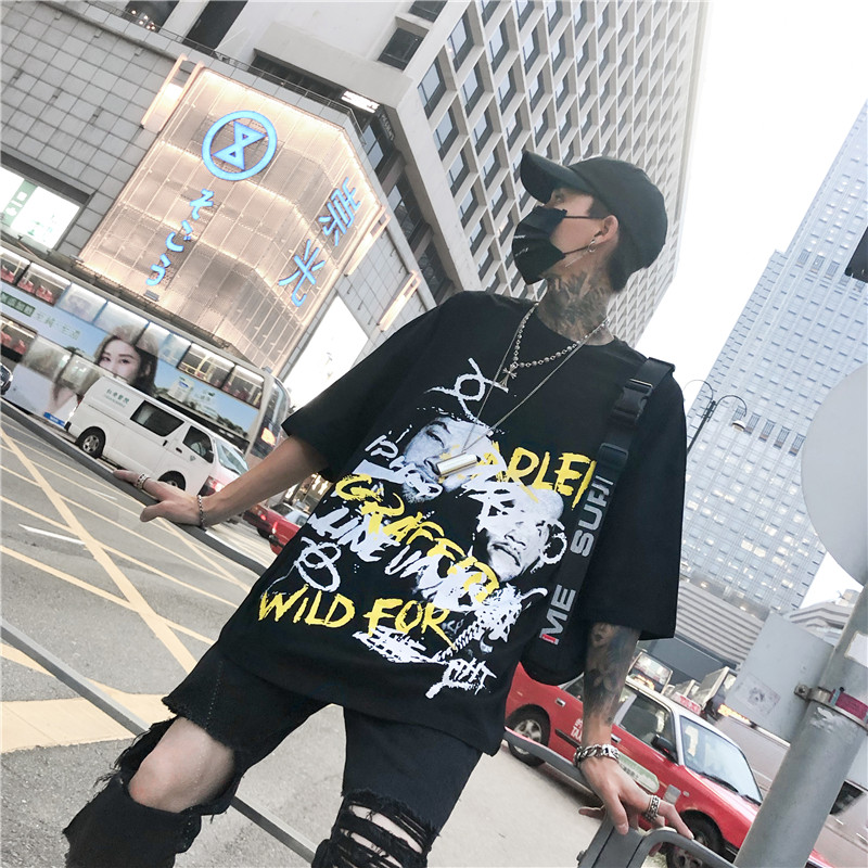 4d4a0d0781686 Buy men in black graffiti and get free shipping on AliExpress.com