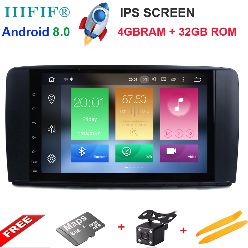IPS 9 inch 8 CORE Android 8 0 4G Ram 32G Rom CarRadio GPS Navigation For