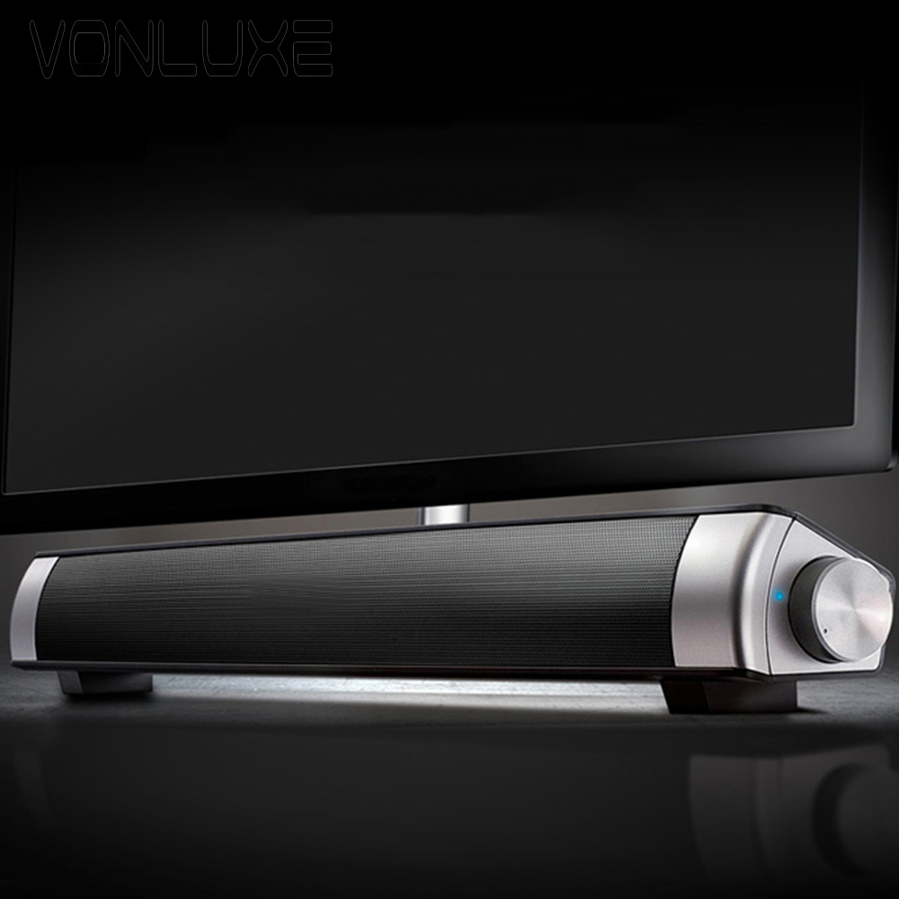 25bcb08bd06 Real Pics of Big Power USB Mini Bluetooth Soundbar Sound Soundbar LP 08  Sound Bar HIFI Soundbar Speaker For Computer TV Phones-in Portable Speakers  from ...