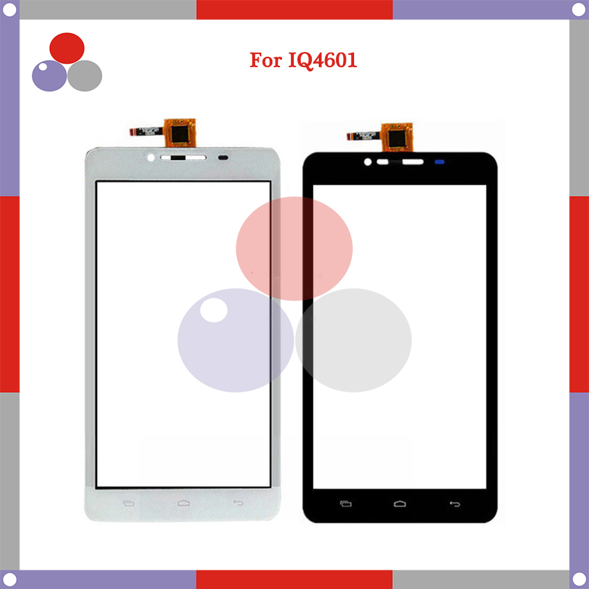 10pcs/lot 6.0 For Fly IQ4601 Era Style 2 Touch Screen Panel Sensor Digitizer Outer Glass Lens