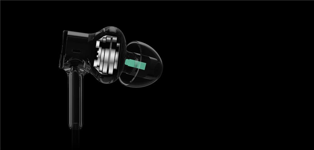 оригинал сяо ми Hybrid HD и наушники-вкладыши обеспечивают управление с ми с ми с двойной Дайна Balance armature для сяо ми красный ми примечание 5