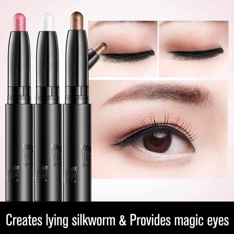 MEIKING makeup Eye Shadow & Liner Combination  Multi-Use Chunky Pencils for Eyeliner brand of glitter waterproof eyeliner pencil