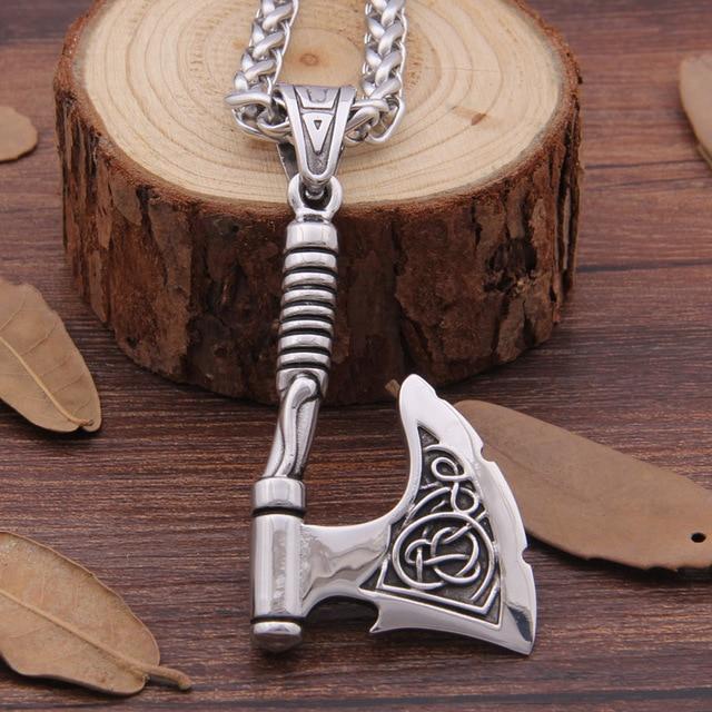 Stainless Steel Viking Pendant 1