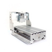 DIY cnc 3020 mini cutting machine frame with 52mm Spindle motor