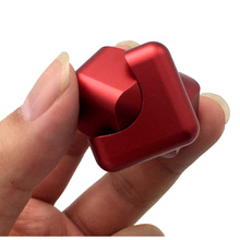New Plastic Fidget Cube Fidget Spinner EDC Hand Spinner Fidget Toys Anti-stress Toy Cross Style Custom Hand Spiner Stress Wheel