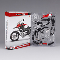 Maisto 1:12 R 1200GS motorcycle diecast metal model kits assemble motorcycle model for men gifts motorbike model present 39194