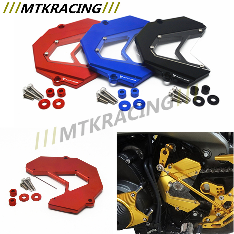 Motorcycle Front Sprocket Guard Chain Cover For Yamaha MT-09 MT09 2013 2014 2015 2016 NEW