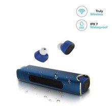 S2 Novo TWS Sem Fio À Prova D' Água fone de Ouvido Bluetooth fone de Ouvido Esporte fone de Ouvido Hi-Fi Stereo Handsfree Fones Caixa De Carga Magnética