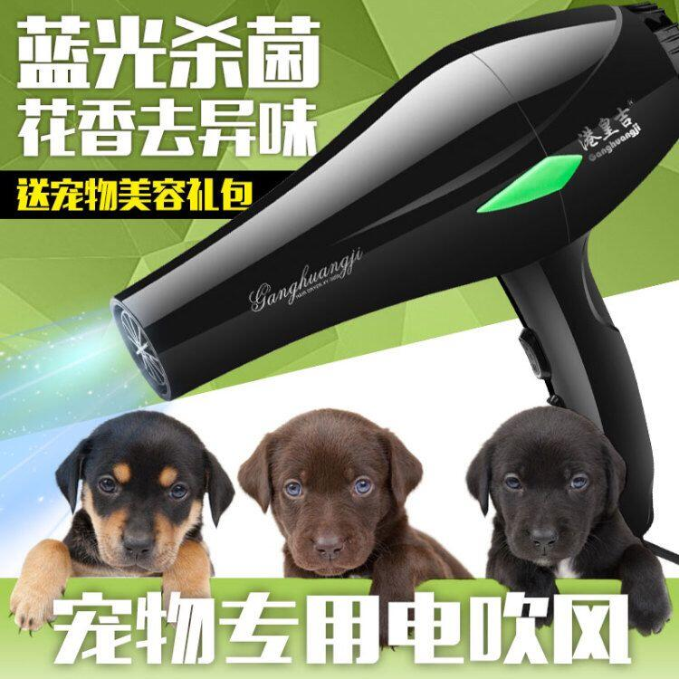 High power pet hair dryer mute dog Professional dryer 3200w golden Teddy special drying machine household bath blowing artifact