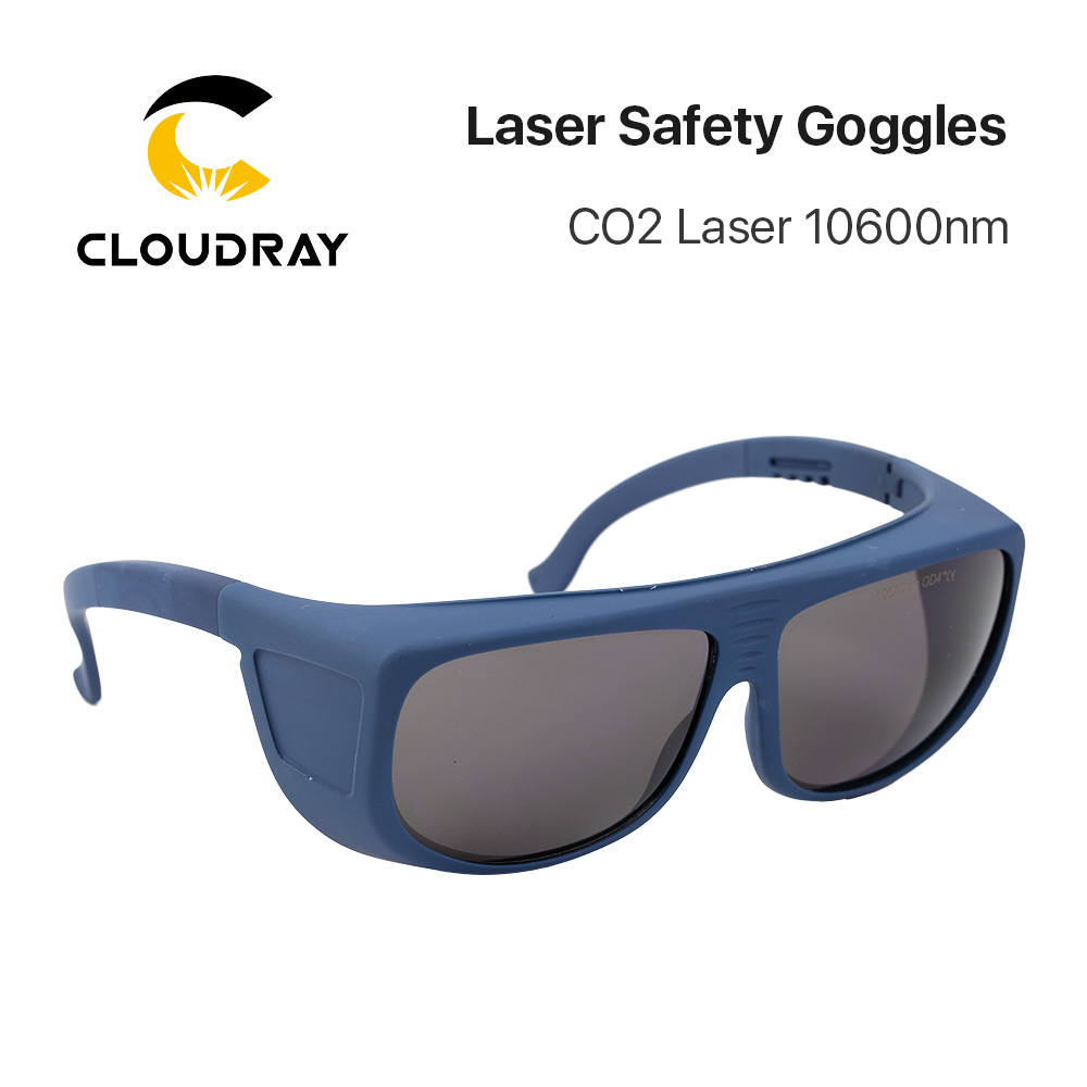 Cloudray 10600nm Laser Safety Goggles OD4 CE Style T Protective Goggles For CO2 Laser Free Shipping