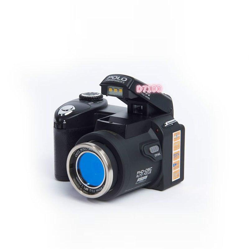 PROD7100 13.0MP CMOS 2.5 pouce TFT LCD Écran Numérique Caméra 8X D Zoom Numérique Caméras avec LED Phare