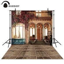 Allenjoy – arrière-plan pour photographie, photographie d'intérieur, bâtiment, fleur, porte, fenêtre, villa, arc, studio photo