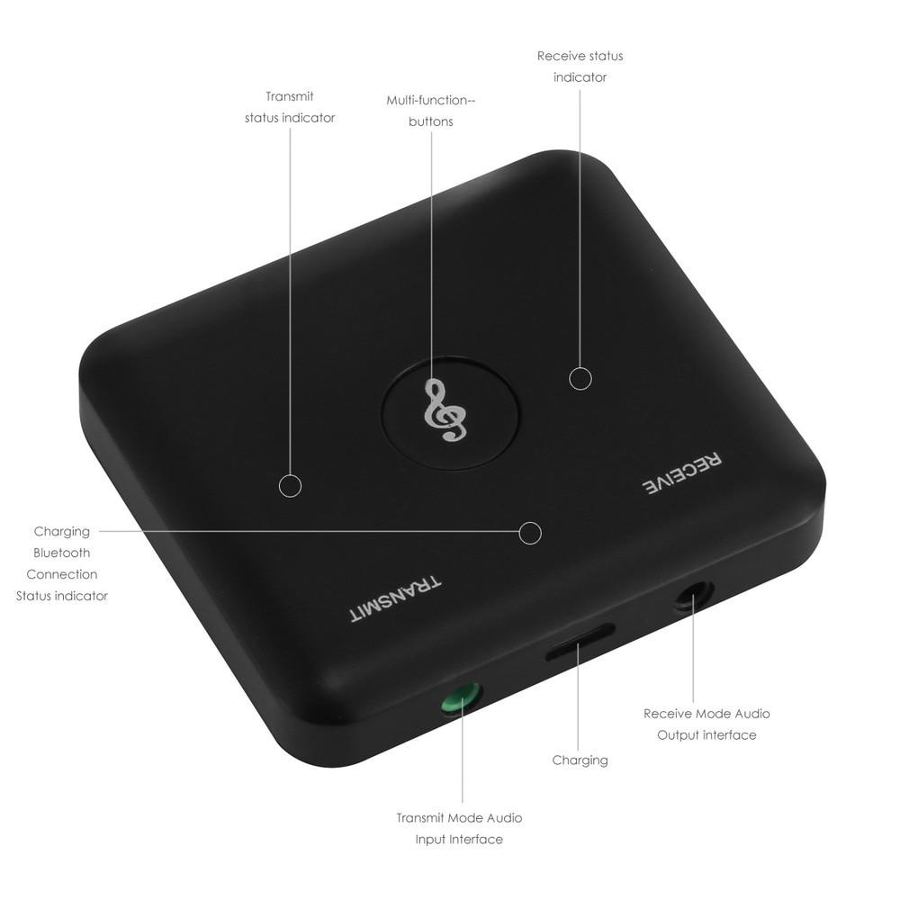 Koop Goedkoop 2 In 1 Draadloze Bluetooth Audio Adapter Voor Speaker Tv Pc Mp3 Mp4 Projector Zender Muziek Ontvanger Voor Ios Android
