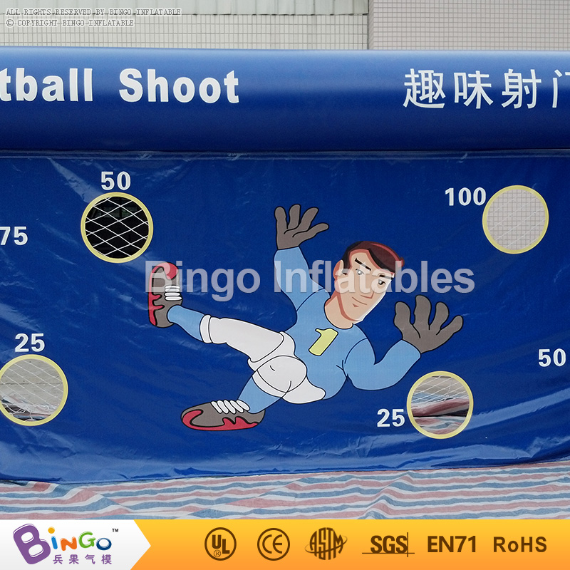 inflatable football field shooting soccer goal kicking gate game L6mxH3m for children kids party sport games toy