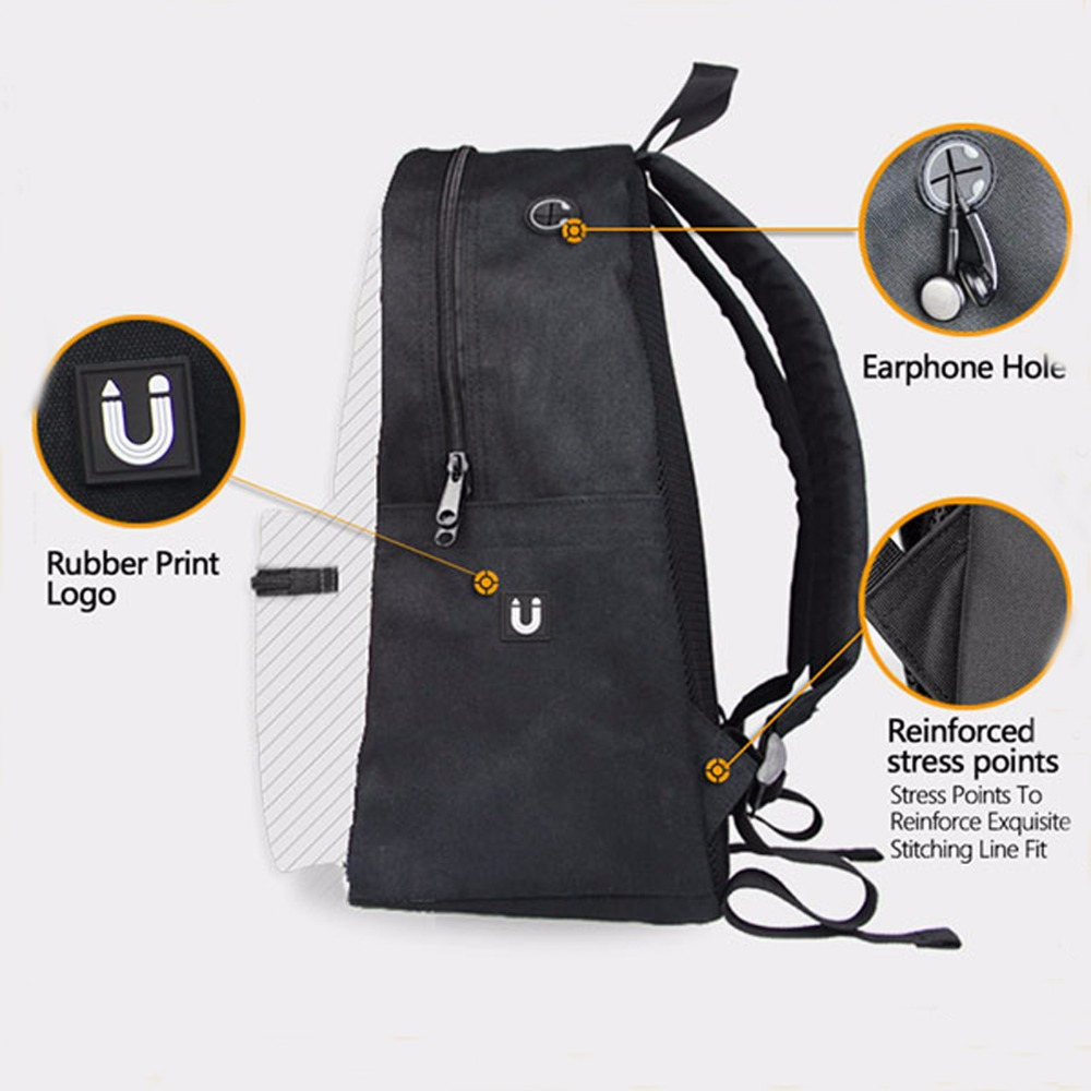 c4fedf60234 FORUDESIGNS Cute Women Backpacks 3D Rainbow Unicorn Printing Kids School  Book Bags Cool Horse Head Rucksack for Travel Mochila -in Backpacks from  Luggage ...