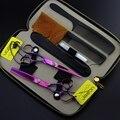 Быстрая доставка! Профессиональная ножницы 6 дюймов япония стали 440C слева - ручной парикмахерские ножницы инструменты для укладки