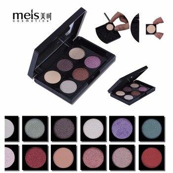 цена на MEIS DIY Eye shadow Professional Makeup Glitter Shadow Shimmer Eyeshadow Palette Glitter Eye shadow makeup Palette Shadow