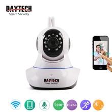 Daytech Security Camera 720P IP Camera Wifi Two Way Audio Night Vision Camera Mini Wireless Surveillance  Wifi Video Camera 101A