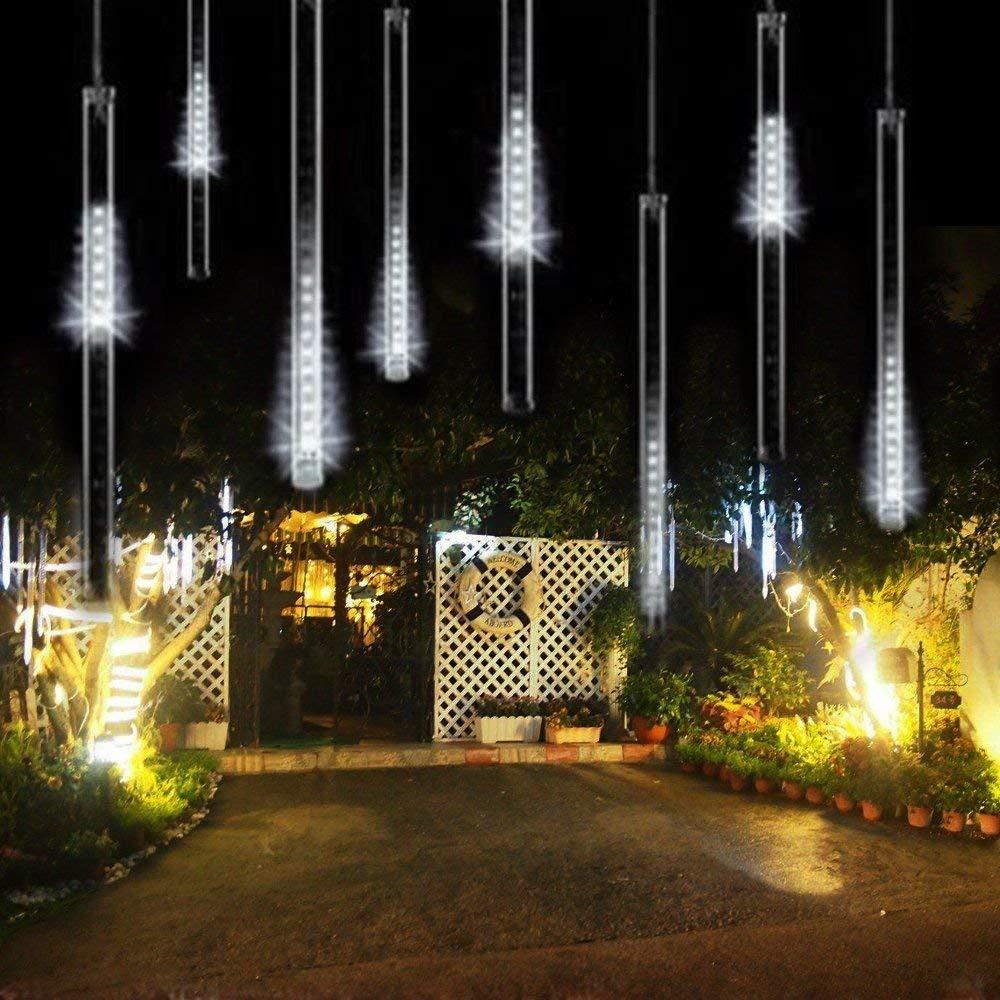 AveyLum 30CM LED Meteor Shower Rain Lights AC100 240V LED ...
