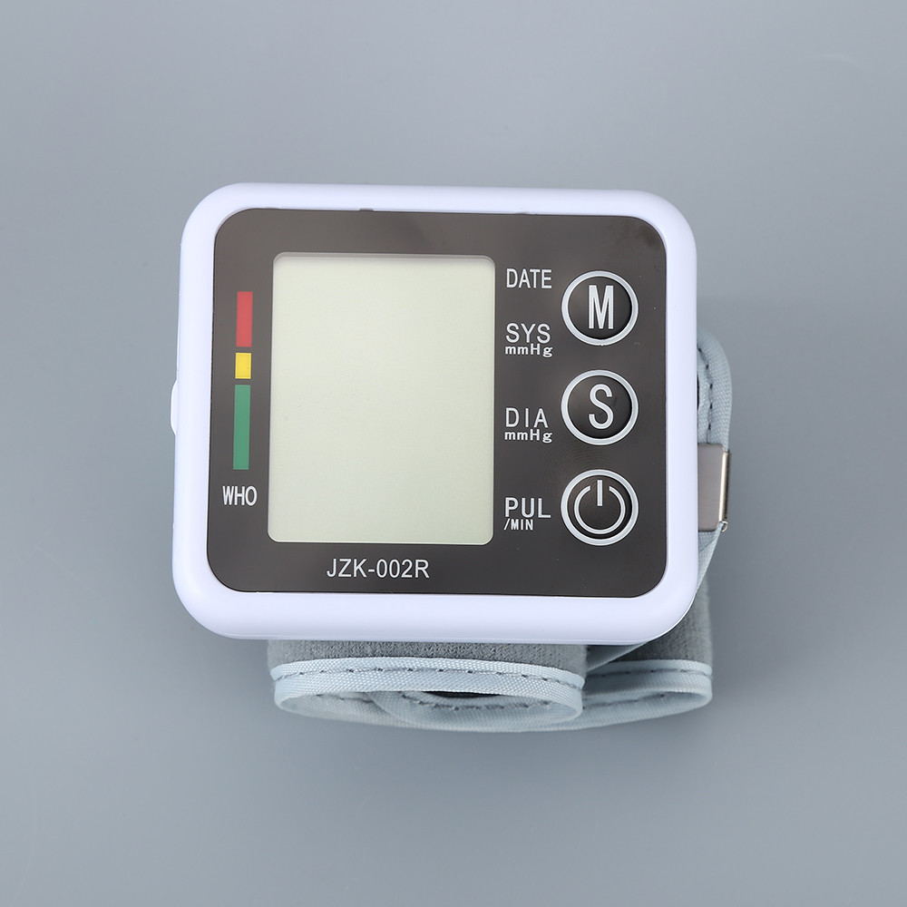 Digital LCD Wrist Blood Pressure Monitor Heart Beat Rate Pulse Meter Measure Household Health Care Device New With Cae JwXb 9