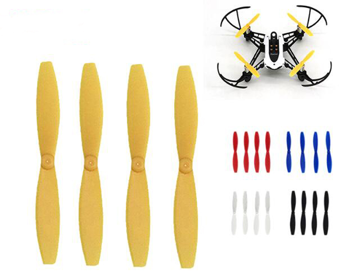 4PCS Parrot Minidrones propeller prop blade paddle for Parrot minidrones series rolling spider Mambo Swing quadcopter drone part free shipping original rolling wheel axis kit parrot minidrones rolling spider parts genuine