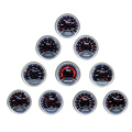 "2 ""52mm coche bar psi boost gauge medidor de temperatura de Escape de gas de agua temperatura del aceite prensa de aceite gauge tacómetro volts meter Aire combustible calibre"
