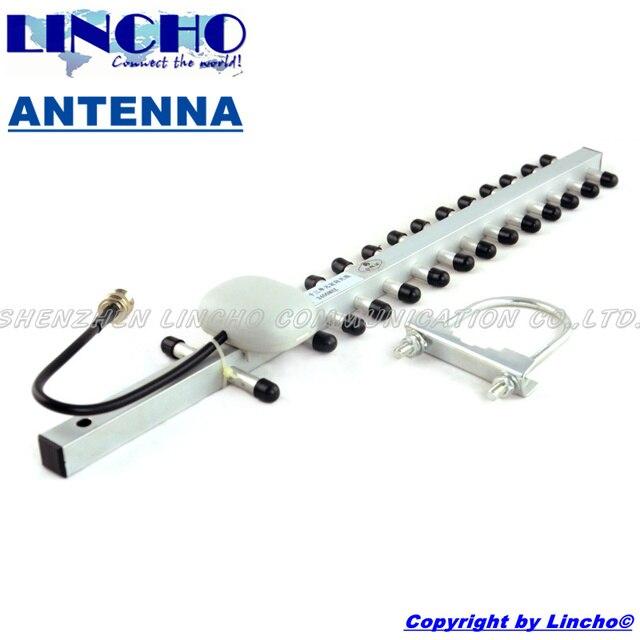 2.4 ГГц открытый 16db направленная wi-fi антенна yagi 15 элементов с высоким коэффициентом усиления wi-fi антенны