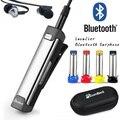 Novo Escritório Esporte Auricular Bluetooth Sem Fio de Lapela Microfone do Fone De Ouvido Fones de Ouvido Estéreo de Alta Fidelidade Baixo Pesado Fone de Ouvido Blue Tooth