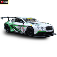 Bbuiago 1:24 Bentley Continental GT3 manufacturer authorized simulation alloy car model crafts decoration collection toy tools