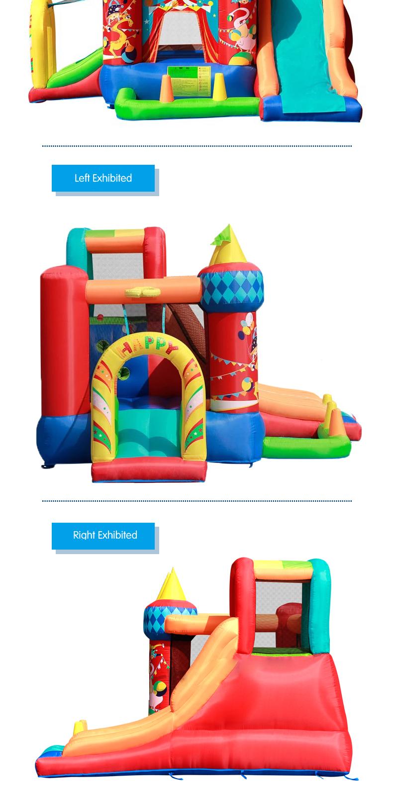 HTB1M85jPFXXXXbbXpXXq6xXFXXXW - Mr. Fun Residential Nylon PVC Inflatable Bounce Castle Bouncy House with Blower